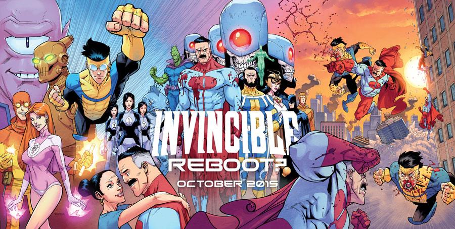Robert Kirkman tiene planeados cambios en su longeva serie de superhéroes