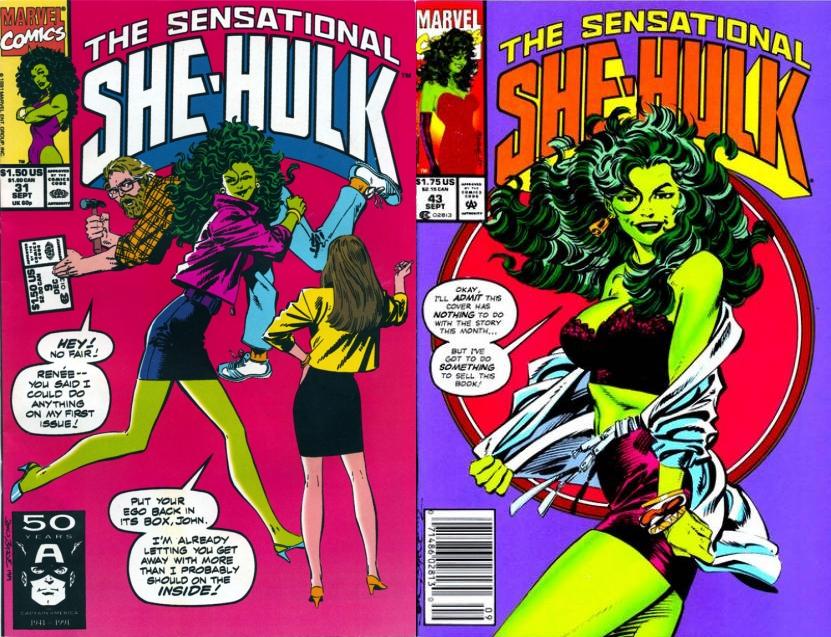El propio Byrne fue duramente criticado en su momento por cambios realizados en varias series, como She-Hulk.