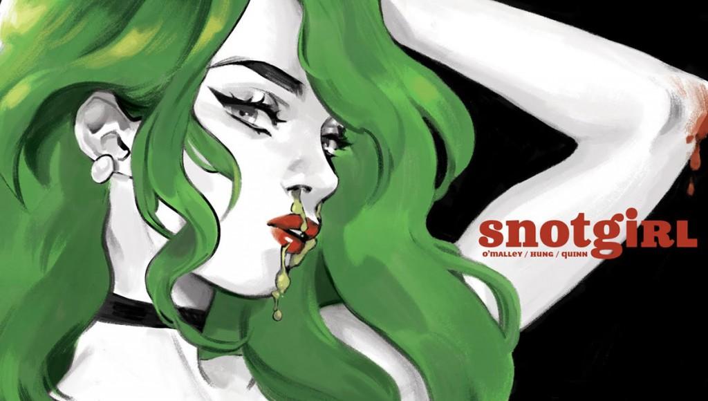 Bryan Lee O'Malley explorara el extraño mundo de la celebridad en línea en las páginas de Snotgirl.