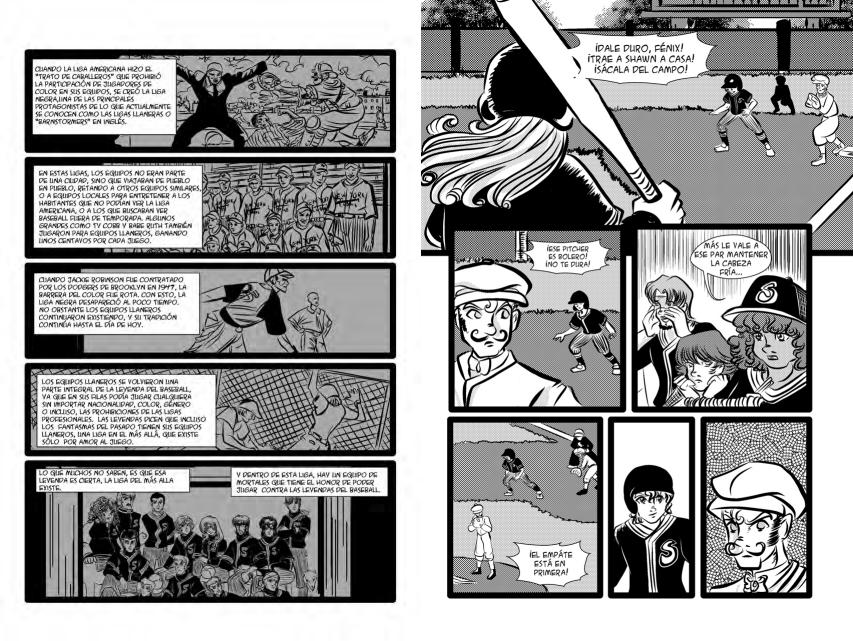 Traveling Seers combina un poco de historia del beisbol con la historia de un equipo de videntes.