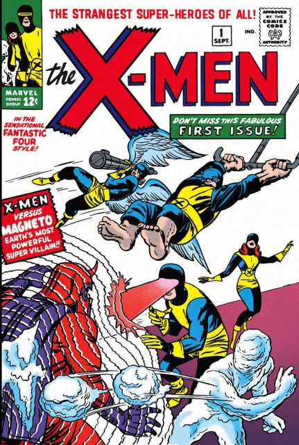 X-Men  #1 Jack Kirby