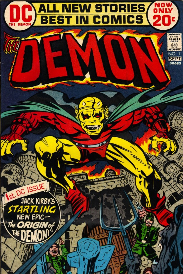 The Demon #1 Jack Kirby