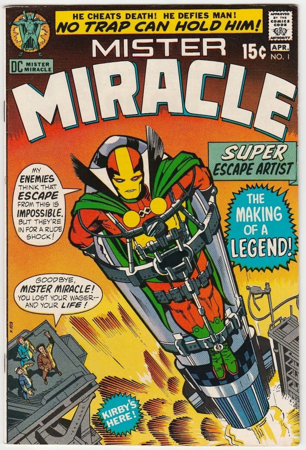 Mister Miracle #1 Jack Kirby