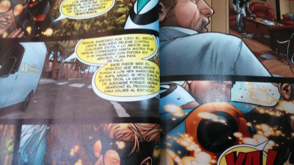 Speedball habla muy ajustado para los globos que le dan.