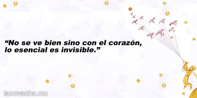 7 | No se ve bien sino con el corazón, lo esencial es invisible.