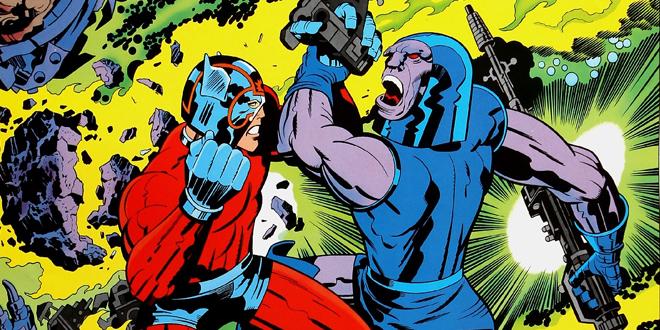 Darkseid contra Orion en una pelea que a nadie le interesa