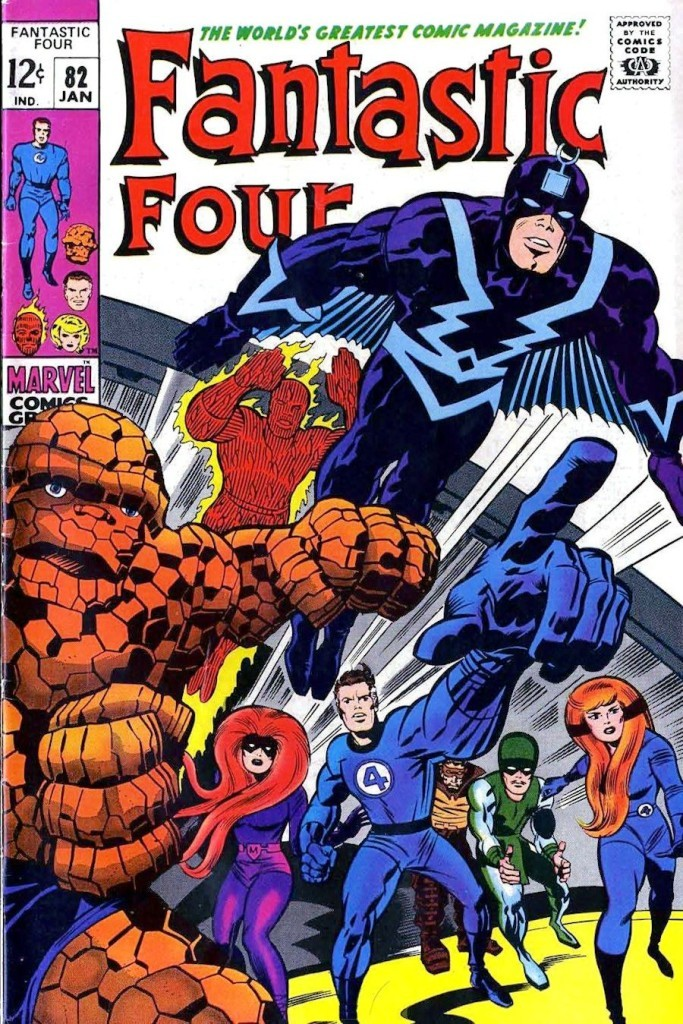 Fantastic four #82 Jack Kirby