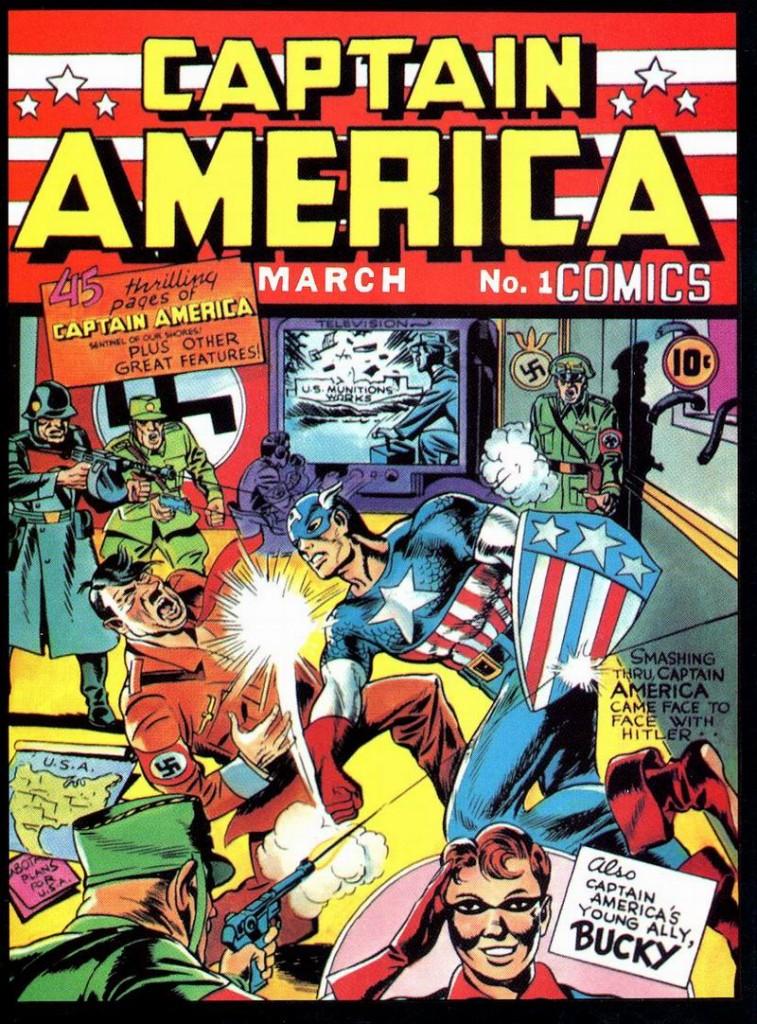 captain-america #1 Jack Kirby