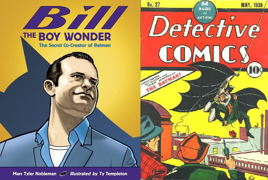 La biografía escrita por Marc Tyler Nobleman ayudó a difundir las aportaciones de Finger al mito de Batman desde Detective Comics #27