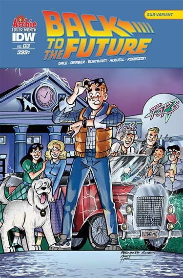 Back to the Future #3 - Archie variant