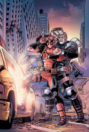 Deadpool Cable Split Seconds #2