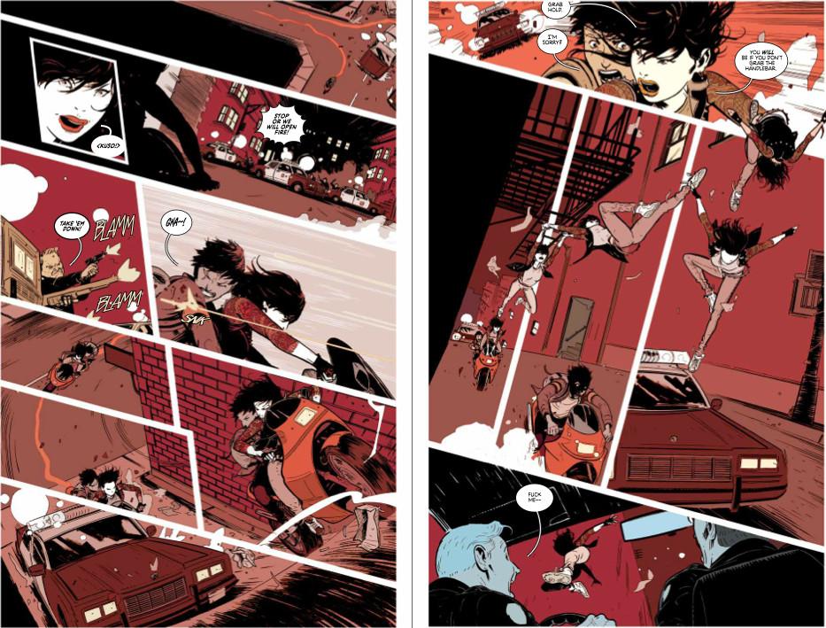 El dinámico arte de Wes Craig es el complemento ideal para el tono de la historia