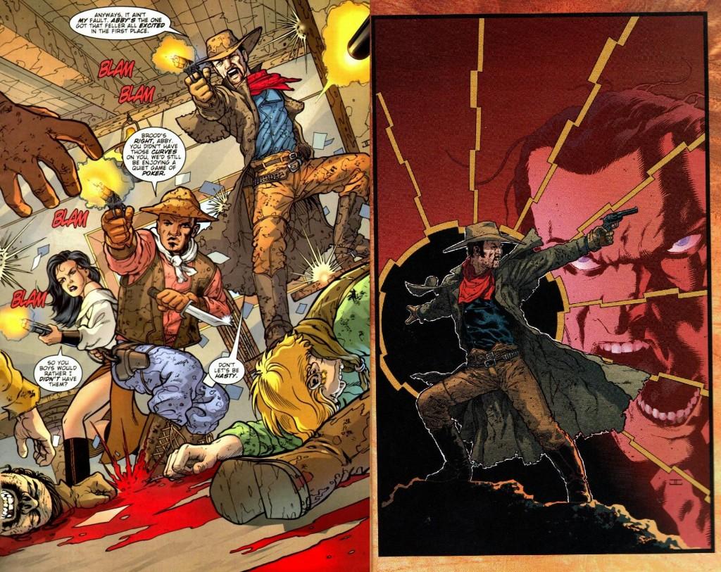 Un año antes de dejar huella con Planetary, John Cassaday debutó en Wildstorm como dibujante de Desperadoes