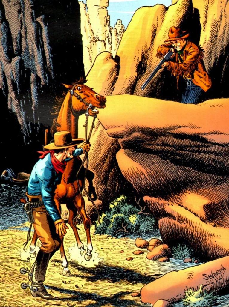 El legendario John Severin contribuyó con el arte de una de las secuelas, dando un toque clásico a la serie.