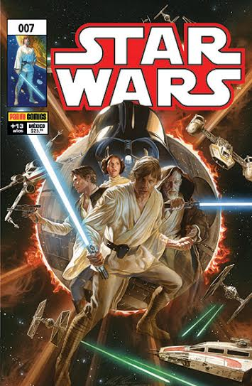 Star Wars #7 Alex Ross Variante PANINI México