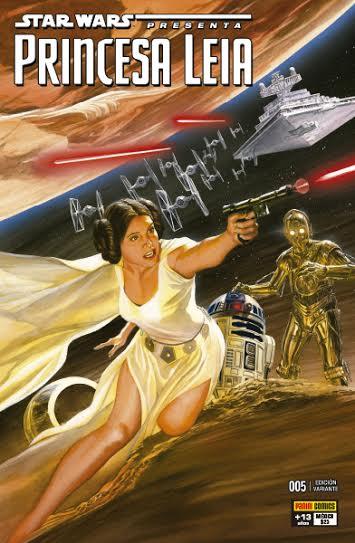 Star Wars Princesa Leia #5 - Alex Ross variante PANINI México