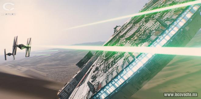Una chatarra que convierte los parsecs en una unidad de medida totalmente distinta