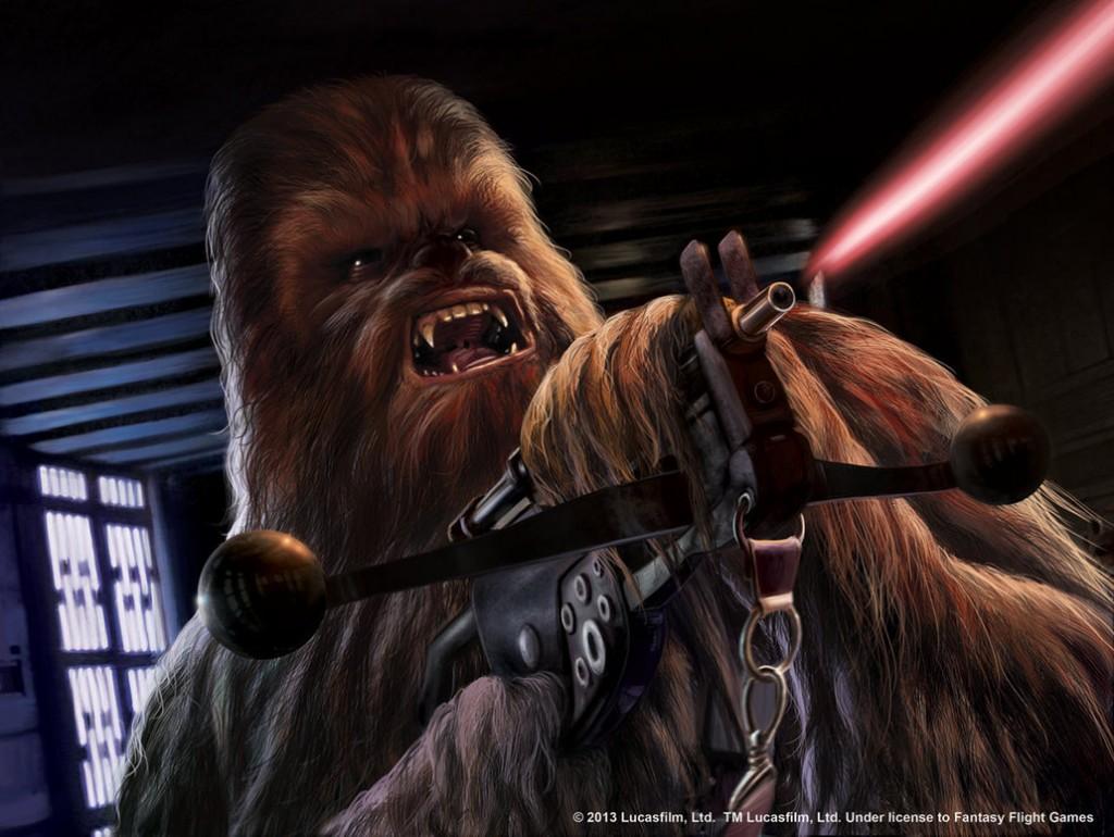 Es imposible dudar de las habilidades de Chewbacca en momentos de crisis