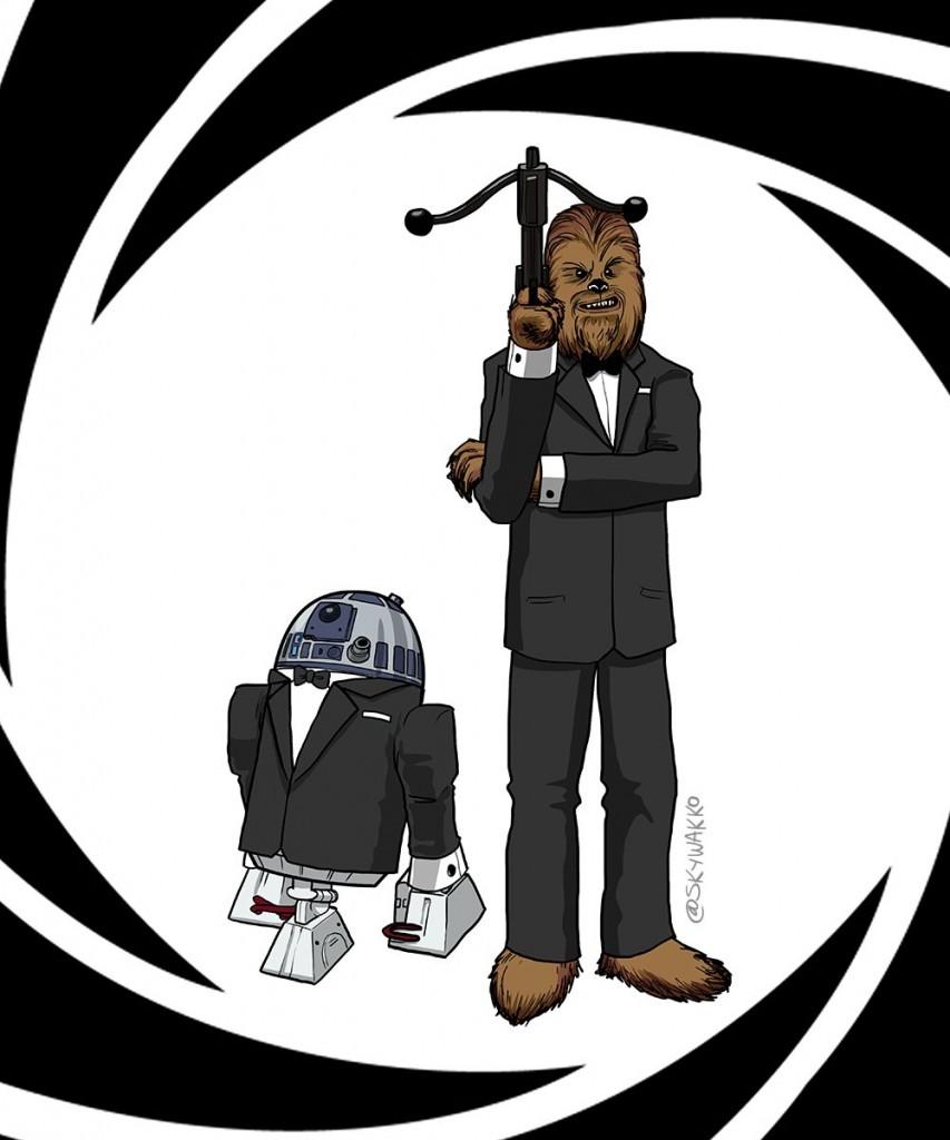 R2-Chewie superspies by Wakko