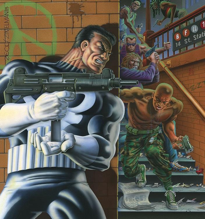 Tal vez no haya mejor ejemplo de lo que es un antihéroe que la figura de Fran Castle, alias Punisher.