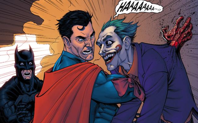 ¿Cuál es el atractivo de ver a Superman rompiendo con su esencia como personaje?