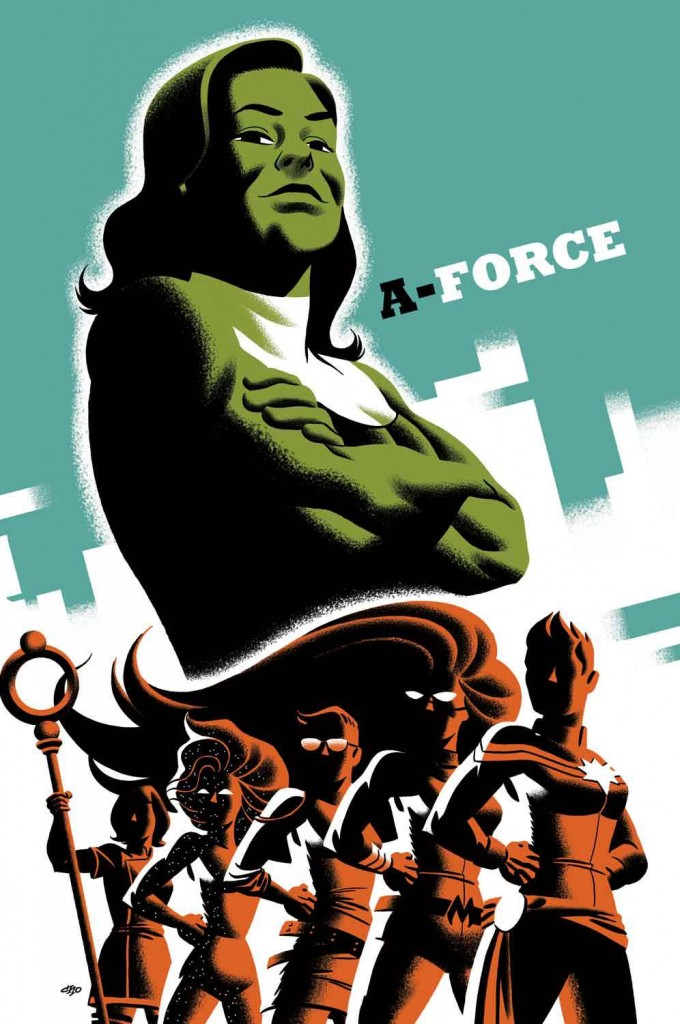 A-Force #3 - Michael Cho Variant