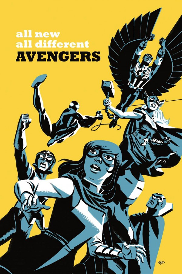 All New, All Different Avengers #5 - Michael Cho Variant