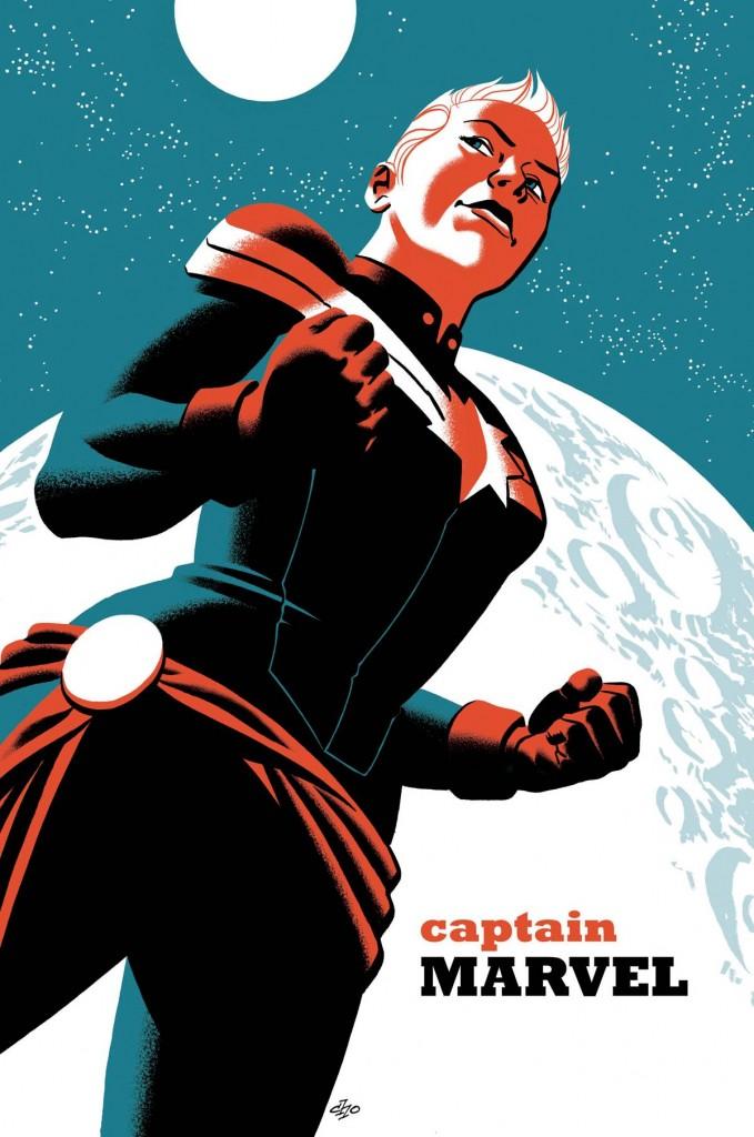 Captain Marvel #2 - Michael Cho Variant