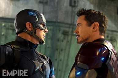 Iron Man - Capitán América: Civil War