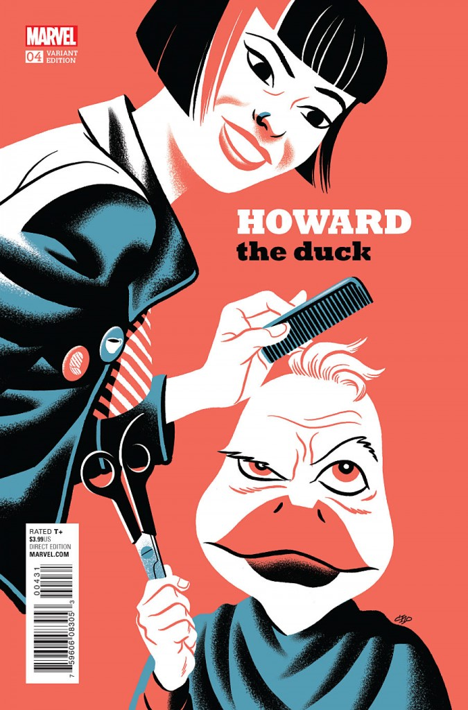 Howard the Duck #4 - Michael Cho Variant