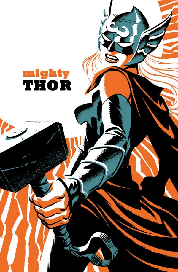 Mighty Thor #4 - Michael Cho Variant