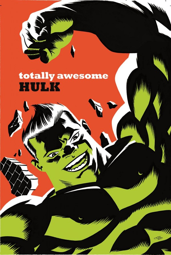 Totally Awesome Hulk #3 - Michael Cho Variant