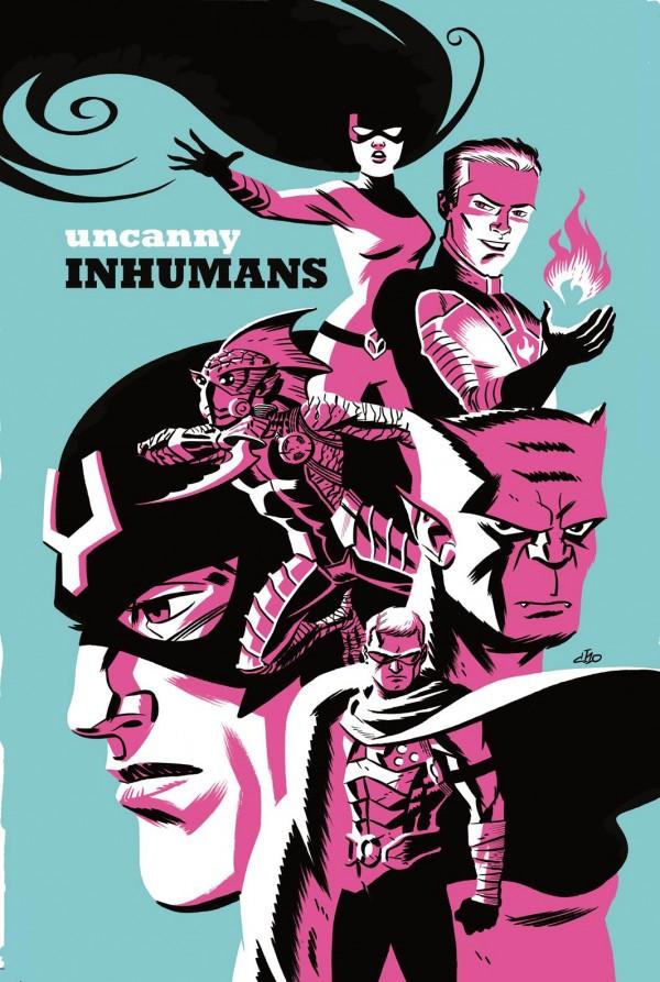 Uncanny Inhumans #5 - Michael Cho Variant