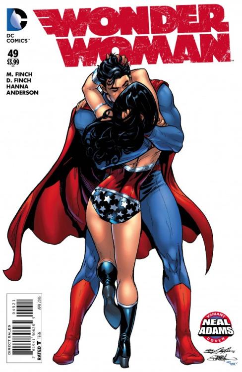 Wonder Woman #49 - Tintas de Terry Dodson