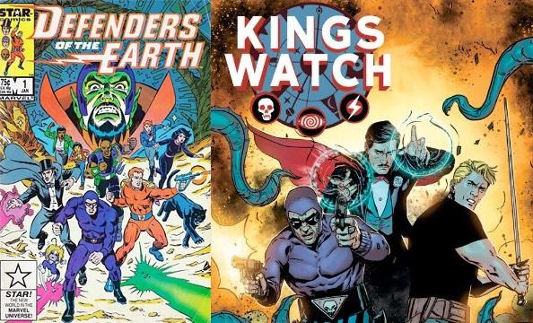 En México el personaje es muy popular gracias a Defensores de la Tierra, idea retomada en dos miniseries de cómic.