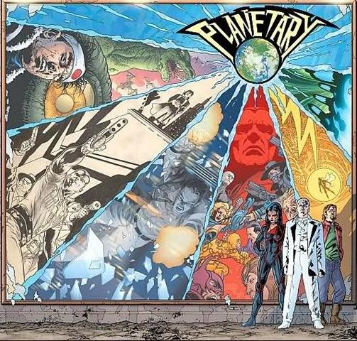 El gran mérito de Planetary fue mirar más allá de su propio medio al buscar temas.