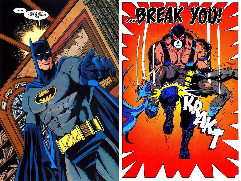 El nombre de Graham Nolan estará permanentemente ligado a Batman y Bane.