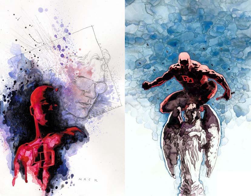 Probablemente el personaje con quien más se le relaciona, además de Kabuki, sea Daredevil.