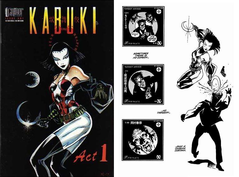 Kabuki, su obra más conocida, comenzó como su proyecto de tesis de literatura.