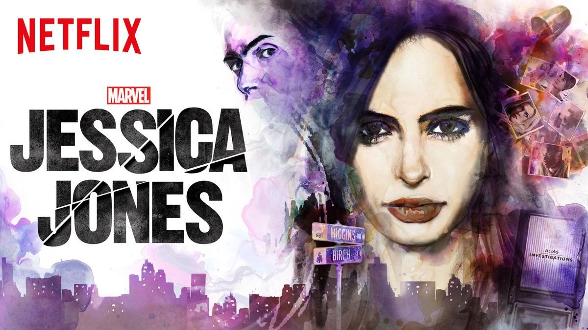 Emulando las portadas de Alias, David realizó todo el arte promocional de Jessica Jones.