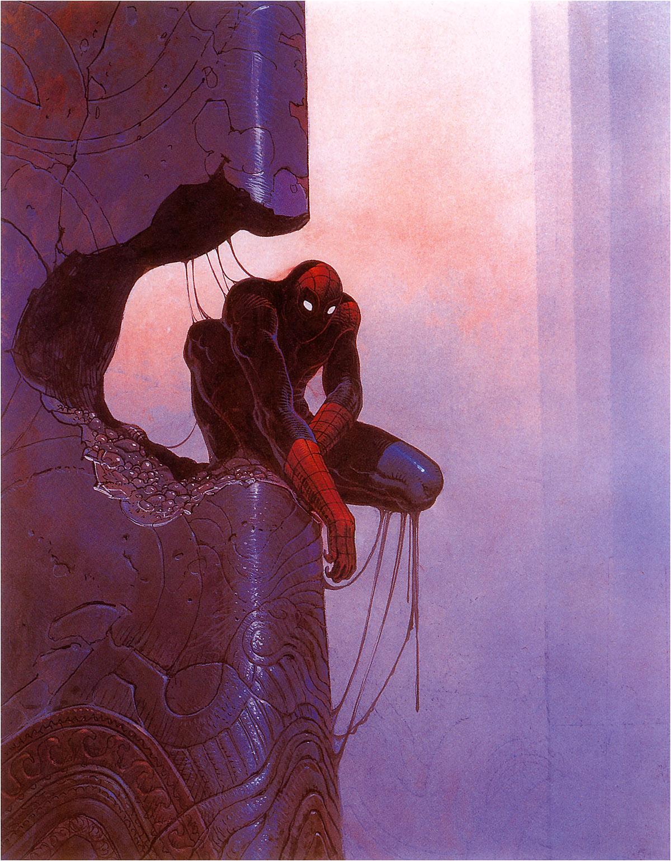 Moebius-spiderman