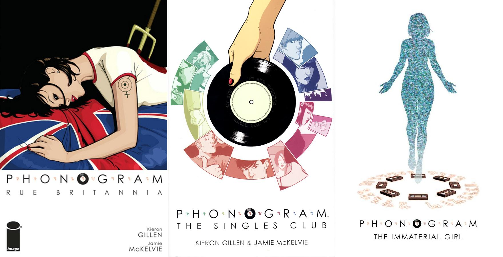 Phonogram fue su primera colaboración con Jamie McKelvie, y tras diez años acaban de finalizar el tercer volumen