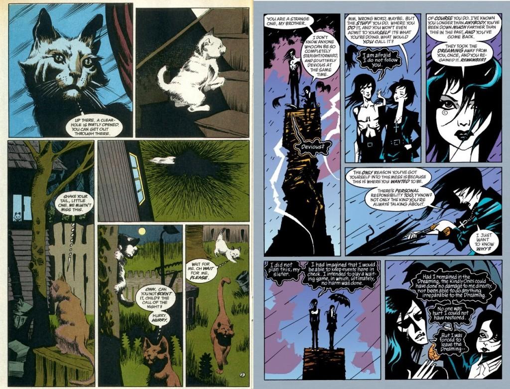 La diversidad de las historias incluidas en The Sandman sólo es rivalizada por la variedad de estilos artísticos que adornaron sus páginas.
