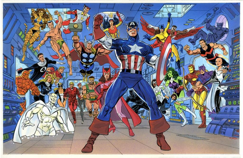 Ryan hizo equipo con John Byrne en Avengers y con Steve Englehart en Avengers West Coast.