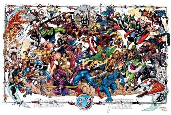 Quizás aún más que los Teen Titans, el nombre de Pérez es frecuentemente asociado a los Avengers.