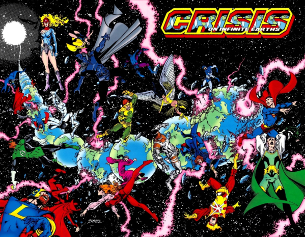 Crisis on Infinite Earths fue el primer gran crossover de DC Comics.