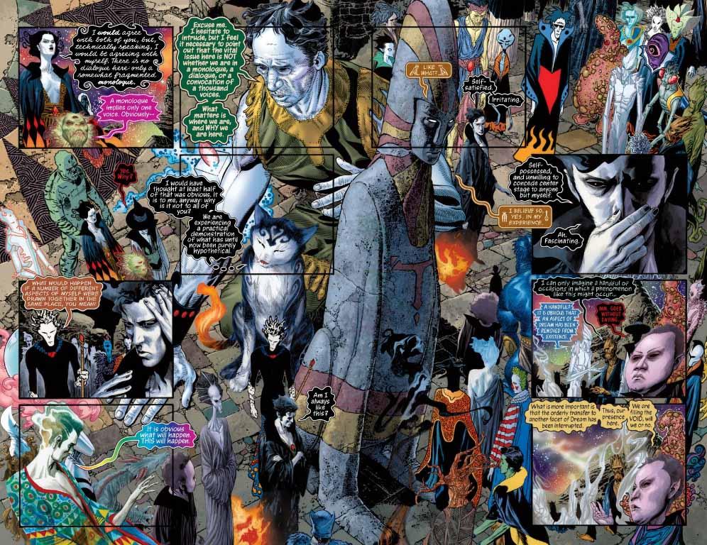The Sandman Overture es una ambiciosa historia que cierra magistralmente la saga de Morfeo.