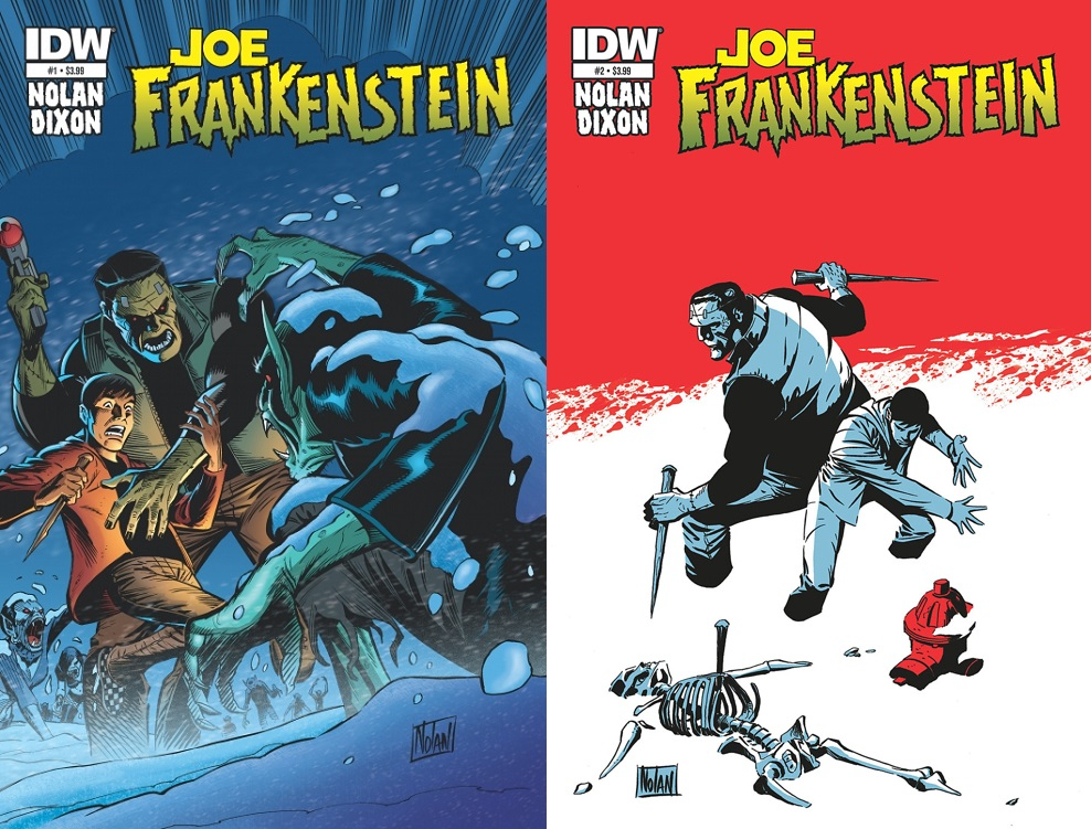 En Joe Frankenstein Nolan volvió a explorar su amor por las historias clásicas de monstruos.