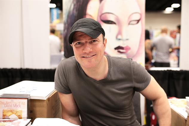 David Mack solía considerarse escritor antes que artista, pero ha encontrado un justo balance