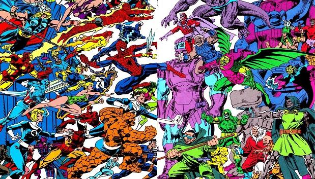Con casi cinco años en Fantastic Four, Ryan pudo dibujar infinidad de personajes del Universo Marvel.